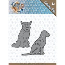 Find It Trading - Amy Design Die - Dog's Life Sitting Dogs