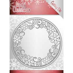 Find It Trading - Jeanine's Art Die - Lovely Christmas Circle Frame