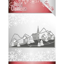Find It Trading - Jeanine's Art Die - Lovely Christmas Landscape