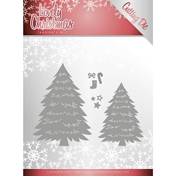 Find It Trading - Jeanine's Art Die - Lovely Christmas Trees