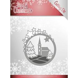 Find It Trading - Jeanine's Art Die - Lovely Christmas Church