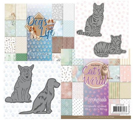 Find-It Trading - Amy Design Cat's World & Dog's Life