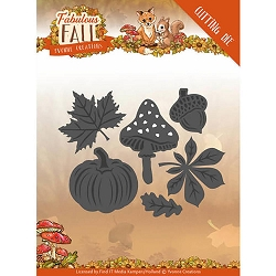 Find It Trading - Yvonne Creations Die - Fabulous Fall Autumn Leaves