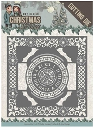Find It Trading - Amy Design Die - Christmas Wishes Twelve O'clock Frame