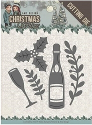 Find It Trading - Amy Design Die - Christmas Wishes Champagne