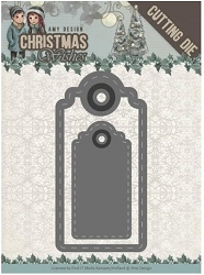 Find It Trading - Amy Design Die - Christmas Wishes Wishing Labels