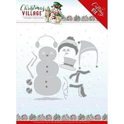 Find It Trading - Yvonne Creations Die - Christmas Village Build Up Snowman