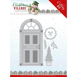 Find It Trading - Yvonne Creations Die - Christmas Village Christmas Door