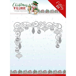 Find It Trading - Yvonne Creations Die - Christmas Village Christmas Baubles