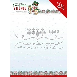 Find It Trading - Yvonne Creations Die - Christmas Village Christmas Lights