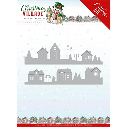 Find It Trading - Yvonne Creations Die - Christmas Village House Scene