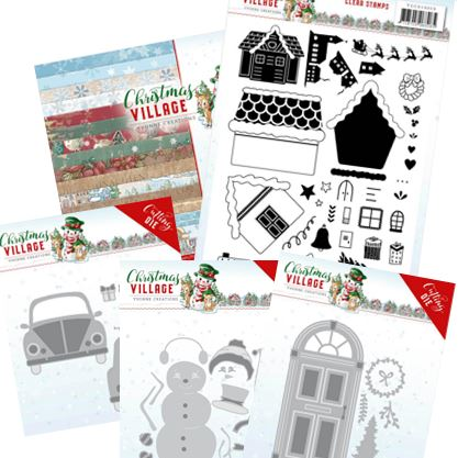 Find-It Trading - Christmas Village collection