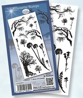 Flower Soft Clear Stamp - Silhouette Trees & Flowers