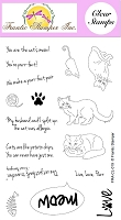 Frantic Stamper Clear Stamp Set - Cat's Meow