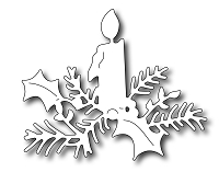 Frantic Stamper Precision Die - Christmas Candle