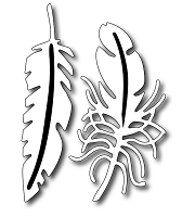 Frantic Stamper - Precision Dies - Fantastic Feathers (set of 2)