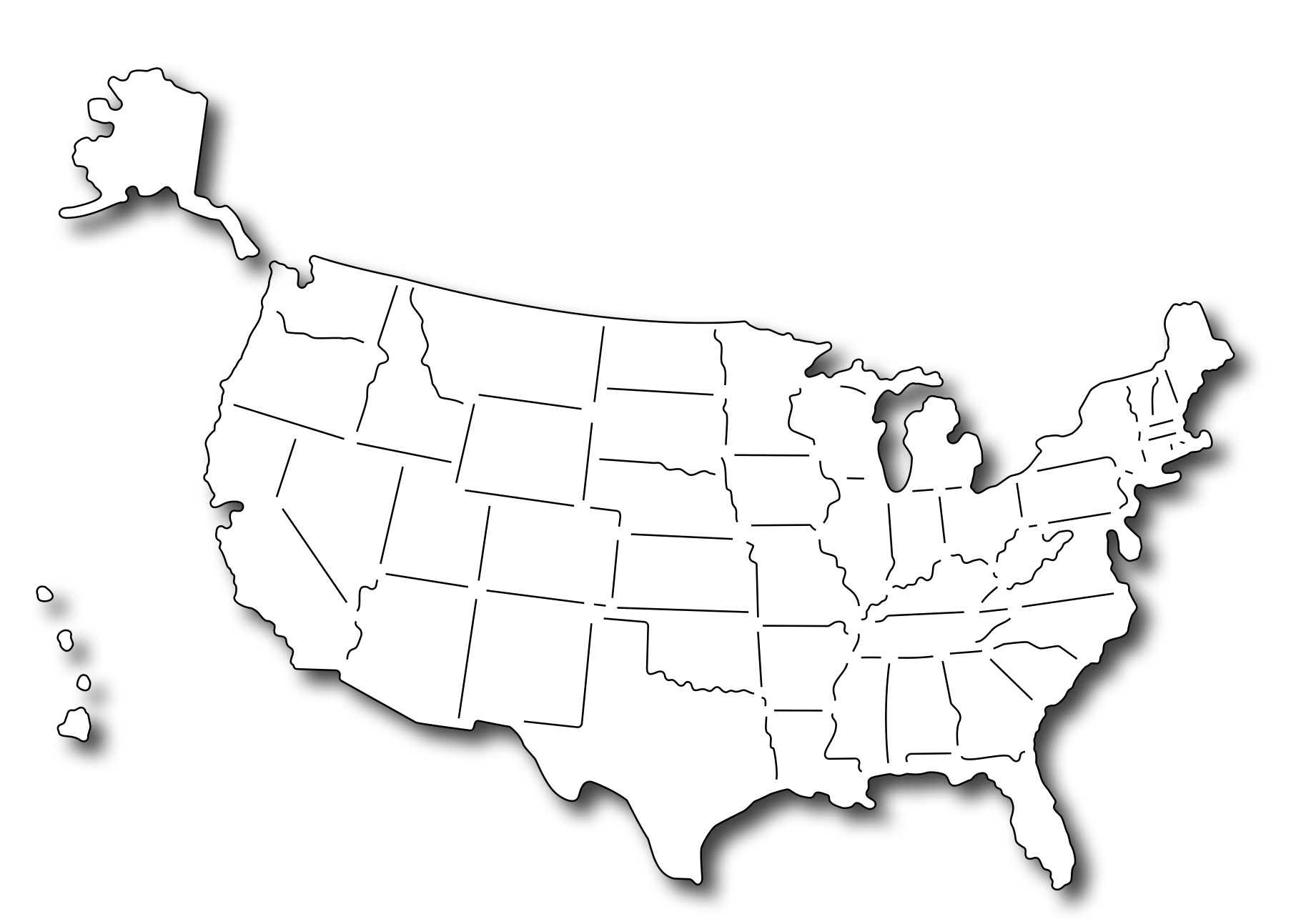 Frantic Stamper Precision - USA Map (set of 3 s) on english usa map, fedex usa map, mexican usa map, michelin usa map, napoleon usa map, continental world map, global usa map, ottawa usa map, continental map of the us, continental us time zone map, indian usa map, empire usa map, continental us map major cities, franklin usa map, capital usa map, continental weather, chinese usa map, american usa map, usa county map, continental india map,