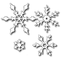 Frantic Stamper - Precision Dies - Snowflake Flurries (set of 4)