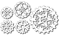 Frantic Stamper Precision Cutting Die - Heart Gears