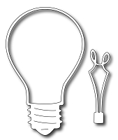 Frantic Stamper - Precision Dies - Lightbulb (set of 2 dies)