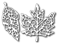 Frantic Stamper Precision Die - Fancy Leaves