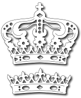 Frantic Stamper Precision Die - Majestic Crowns (set of 2)