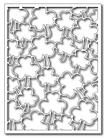 Frantic Stamper Precision Die - Shamrock Card Panel