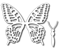 Frantic Stamper Precision Die - Large Swallowtail butterfly