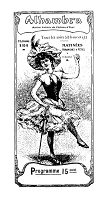 Frantic Stamper Cling-Mounted Rubber Stamp - Theater Poster Girl