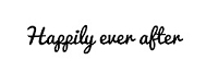Frantic Stamper Cling-Mounted Rubber Stamp - Happily Ever After