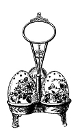 Frantic Stamper Cling-Mounted Rubber Stamp - Egg Shakers