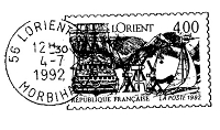 Frantic Stamper Cling-Mounted Rubber Stamp - L'Orient Post