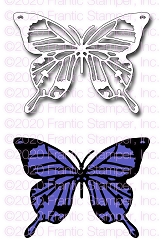 Frantic Stamper Swallowtail Butterfly FRA-DIE-10970