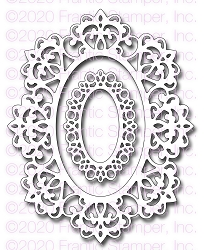 Frantic Stamper Precision Die - Lacy Ornate Frame