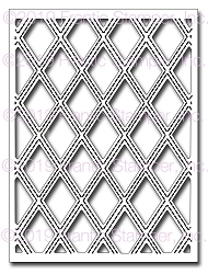 Frantic Stamper Precision Die - Stitched Diamond Panel #2