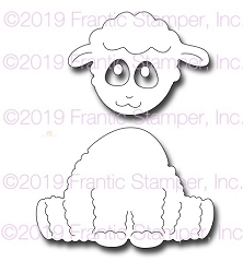Frantic Stamper Precision Die - Darling Lamb