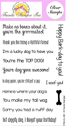 Frantic Stamper Clear Stamp Set - Dog Sentiments