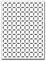 Frantic Stamper Precision Die - Penny Petals Card Panel