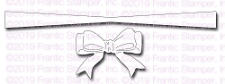 Frantic Stamper Precision Die - Cinched Ribbon Bow