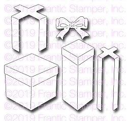 Frantic Stamper Precision Die - Gift Boxes