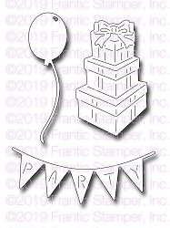 Frantic Stamper Precision Die - Birthday Party