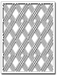 Frantic Stamper Precision Die - Diamond Galore Card Panel