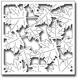 Frantic Stamper Precision Die - Blowing Leaves Square