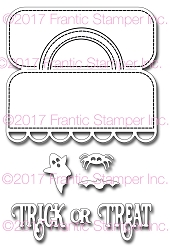 Frantic Stamper Precision Die - Treat Bag Topper