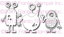 Frantic Stamper Precision Die - Monster Fun