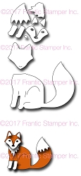 Frantic Stamper Precision Die - Redd The Fox