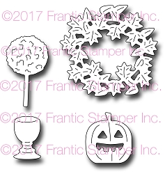 Frantic Stamper Precision Die - Autumn Door Accents