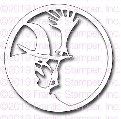 Frantic Stamper Precision Die - Witch Medallion