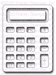 Frantic Stamper Precision Die - Big Calculator