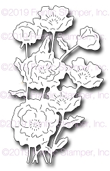 Frantic Stamper Precision Die - Oriental Poppies